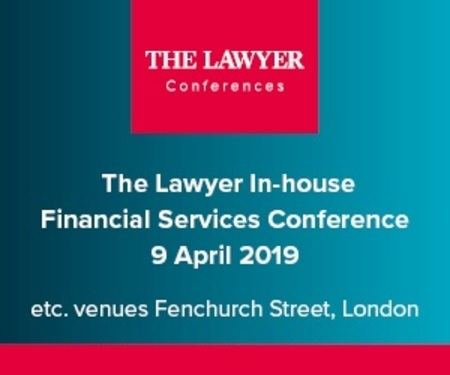 The Lawyer's In-house Financial Services Conference