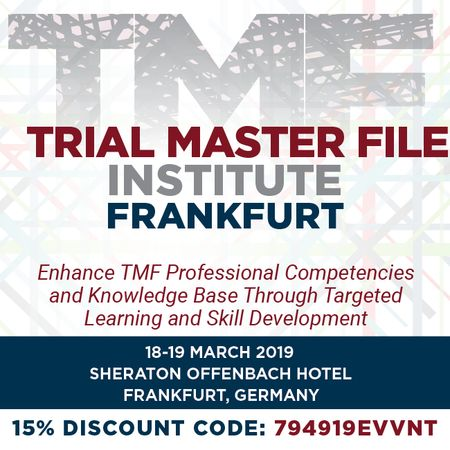 Trial Master File Institute - Frankfurt
