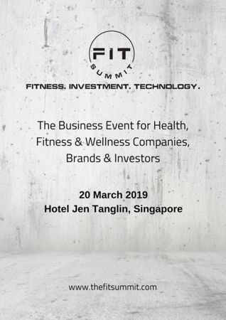FIT Summit - Connecting Health, Fitness, Wellness, Technology & Investors