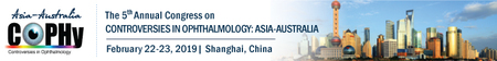 The 5th Congress on Controversies Ophthalmology: Asia Australia (COPHy AA)