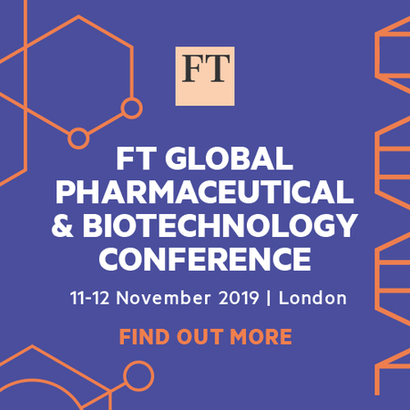 FT Global Pharmaceutical and Biotechnology Conference London 11-12 Nov.