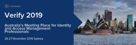 Verify 2019 Conference - Meeting Place for Identity And Access Management