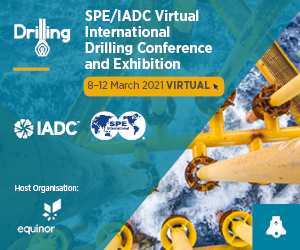 SPE/IADC Virtual International Drilling Conference and Exhibition | 8–12 March 2021