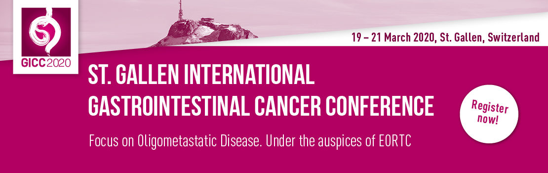 5th St.Gallen International Gastrointestinal Cancer Conference 2020