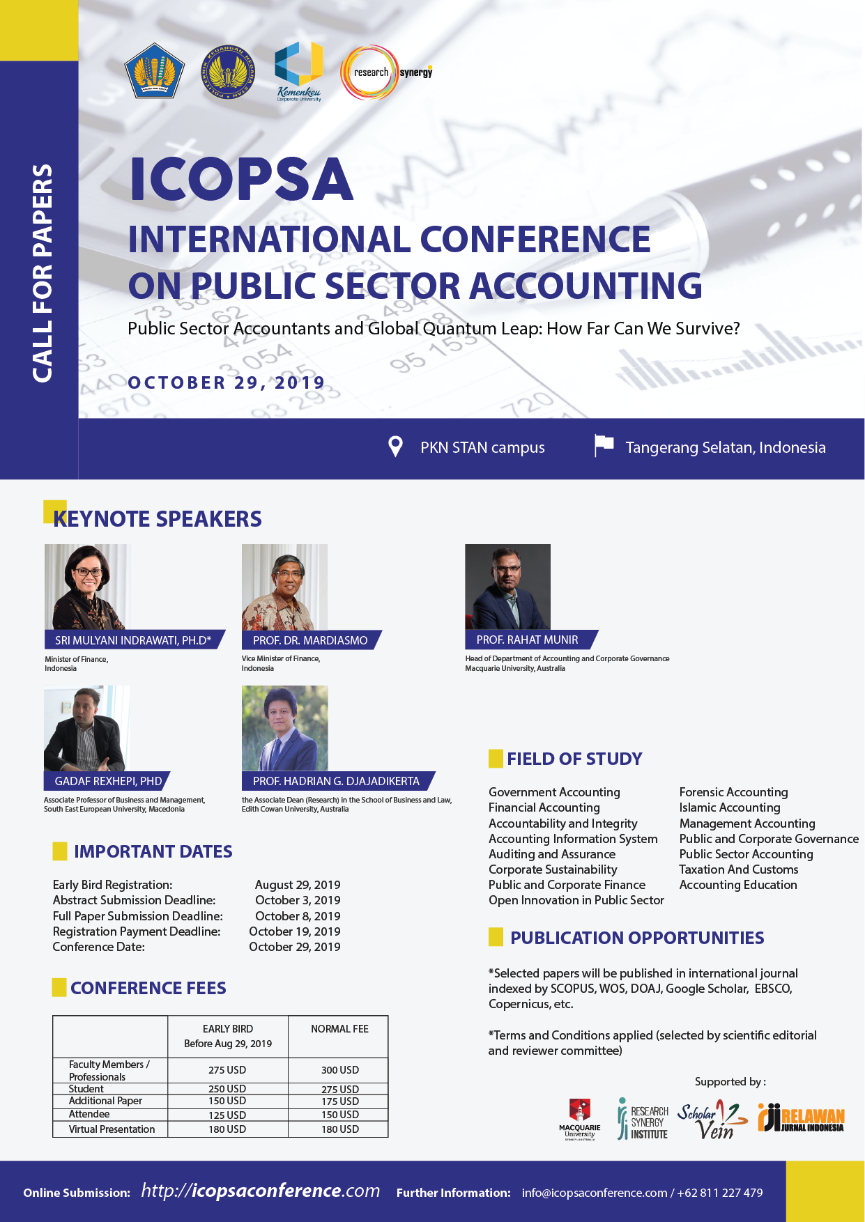 International Conference on Public Sector Accounting (ICOPSA)