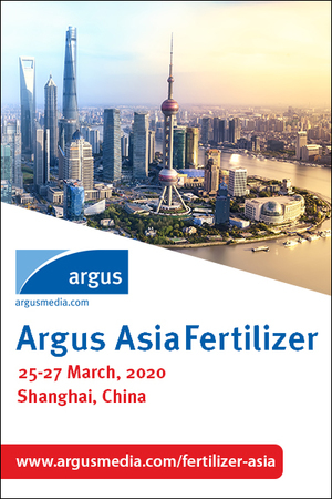 Argus Asia Fertilizer Conference in Shanghai - March 2020