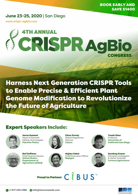 4th CRISPR AgBio Congress 2020