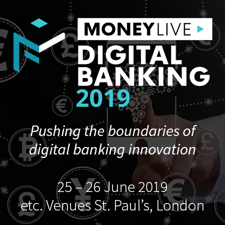 MoneyLIVE Digital Banking 2019 in London - June 2019