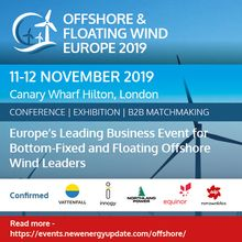 Offshore And Floating Wind Europe 2019 (11-12 Nov) with Tidal Summit (ITES)