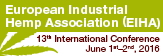 13th Conference of the European Industrial Hemp Association