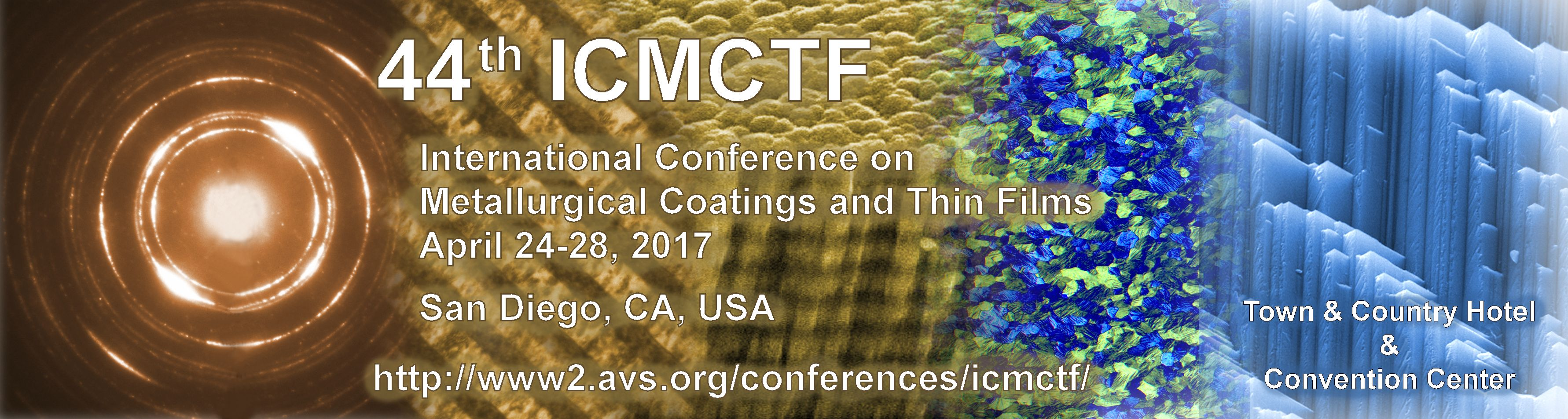 44th Int. Conf. on Metallurgical Coatings and Thin Films