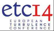 14th European Turbulence Conference