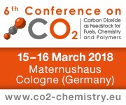 6th Conference on Carbon Dioxide as Feedstock for Fuels, Chemistry and Polymers