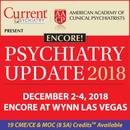 AACP/Current Psychiatry Update Encore Presentation